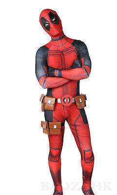 Deadpool Bodysuit Avengers Hero Cosplay Costume Halloween For Adult & Kids Cos](Deadpool Costumes For Adults)