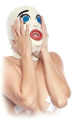 texmaske Adult Baby Crossdresser Sissy passend zur Gummihose (Adult Baby Maske)