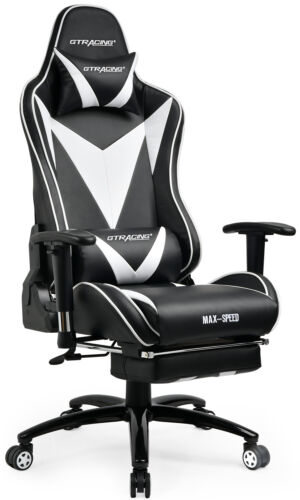 video computer gaming chair high back recliner