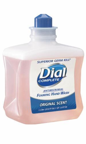 6 DIAL #23400 00162 Total Clean Formula 2.0 Soap, 1 Liter refills CASE of 6
