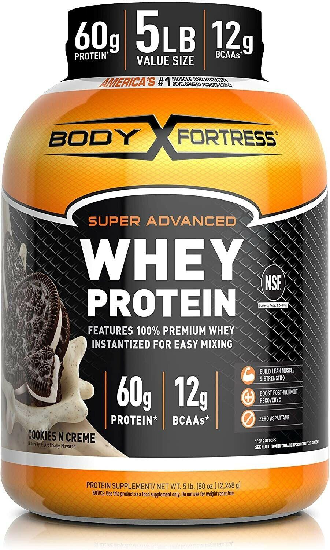 Body Fortress Super Advanced Whey Protein Powder, Flavor: Co
