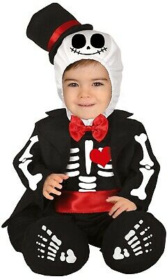 err Smart Skelett Halloween Kostüm Kleid Outfit 6-24m (Skelett Baby Kostüm)