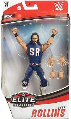 WWE Seth Rollins Mattel Elite Serie 75 Wrestling Action Figure