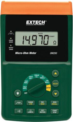 NEW!  Extech UM200 High Resolution Micro-Ohm Meter Precision Meter