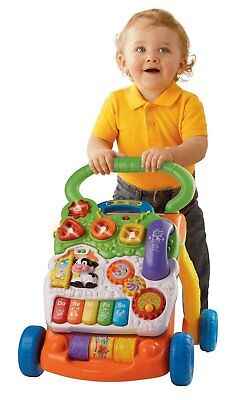 Baby Develop Educational Musical Walker Toy Girls Boy Stand Learning Fun Toddler