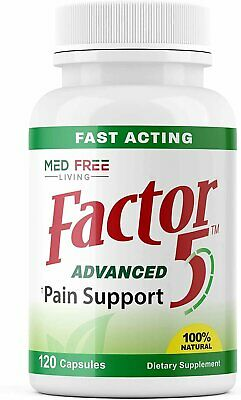 Factor 5-120 Capsules - Pain Management & Inflammation Relief Product