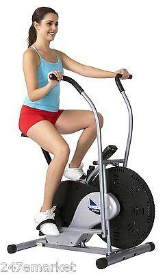 NEW! Body Rider Fan Bike Stationary Upright Body Cardio