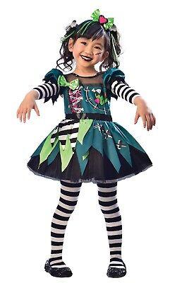 Mädchen Niedlich Frankie Tv Buch Film Halloween Kostüm Kleid Outfit 3-6 (Niedliche Mädchen Kostüme Halloween)