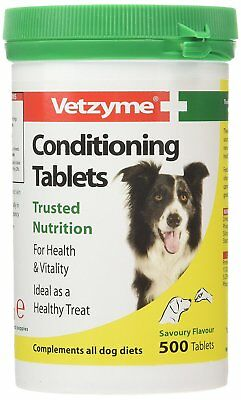 - Vetzyme Conditioning Tablets, 500 Tablets source of b-complex vitamins for dogs