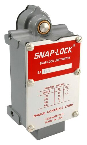 NAMCO EA170-11100 Double Pole Limit Switch, Standard Mounting