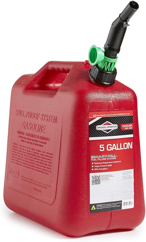 Briggs & Stratton Smart-Fill 5 Gallon Gas Can Business & Industrial