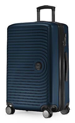 HAUPTSTADTKOFFER MITTE Koffer Trolley Hartschalenkoffer TSA Erweiterung Blau