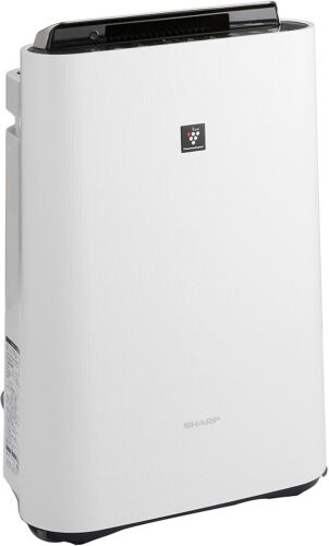 NEW SHARP Humidified and Air Cleaner Plasma Cluster KC-F70-W White JAPAN F/S