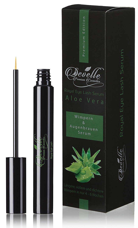 b0fedadbba7 Develle Royal Eyelash Serum 8 ml. with ALOE VERA Eyelash growth-serum I  Booster