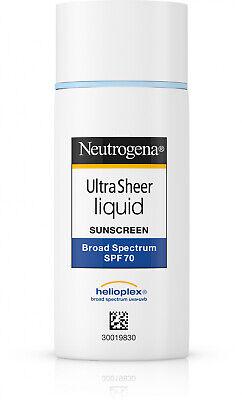 Neutrogena Ultra Sheer Liquid Daily Facial Sunscreen with Br