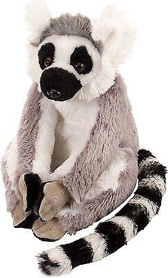 Lemur Stofftier (Wild Republic Plüschtier Stofftier Kuscheltier Affe Katta Lemur Lena 20 cm)