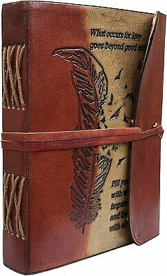 Genuine Leather Journal For Women Writing Notebook Handmade Leather Bound 7x5