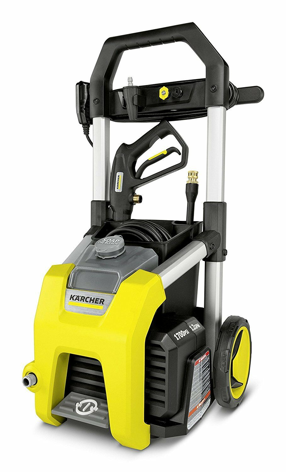 Electric Power Pressure Washer Vacuum Cl