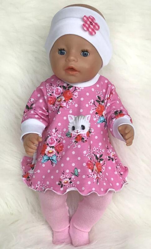 Puppenkleidung  3 tlg. Set für Baby Born mit ca 43 cm NEU ( ohne Puppe )