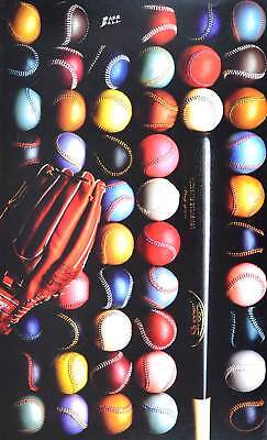Robert Mulligan Base Ball Poster Kunstdruck Bild 90x53,5cm - Germanposters