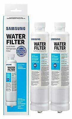 2 Pack Samsung DA29-00020B HAF-CIN/EXP Refrigerator Fresh Water Filter Cartridge