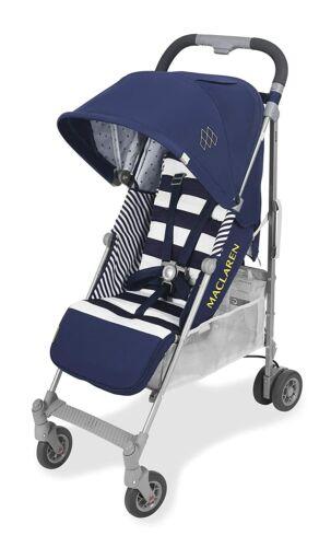 Maclaren 2021 Quest Arc Stroller in Regency Stripe With Rain Cover!