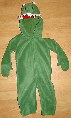 Old Navy Outlet Alligator Crocodile Toddler Fleece Halloween Costume 18-24 mo. - Outlet Halloween Costumes