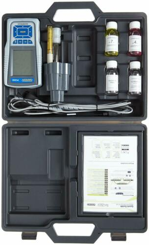 Oakton pH/Con/TDS/PSU/Temp. Multiparameter w/Probes, Cable, Case, Cal. Sol. Kit