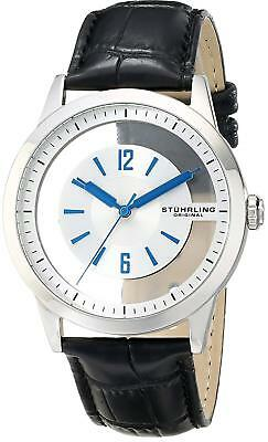 Stuhrling Original 946.01 Winchester Transparent Dial Men's Genuine Leather NEW!