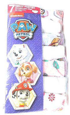 Nickelodeon PAW Patrol Girls' 7 Pack Panties Underwear (4) ()