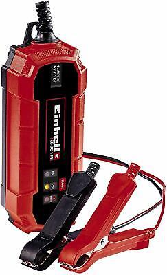 Einhell Cargador de batería de coche inteligente, selector de bateria 6 v...