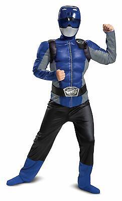 Power Rangers Beast Morphers - Blue Ranger Child Muscle Costume