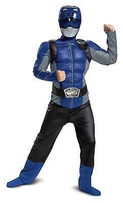Blau Ranger Biest Morphers Klassisch Muskel Kinder - Blaue Biest Kind Kostüme