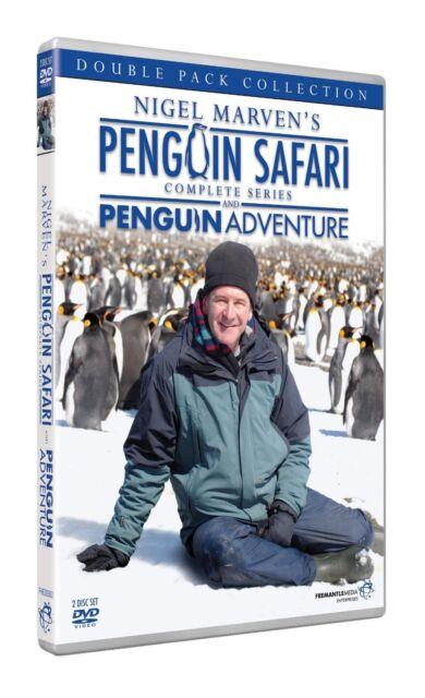 Nigel Marven - Penguin Safari & Adventure (New 2 DVD Set) King Macaroni Gentoo