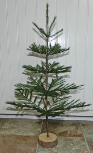 """NEW GREEN 21"""" FAUX GERMAN FEATHER TREE! CHRISTMAS! LIMITED QUANTITIES! RETIRED!!"""