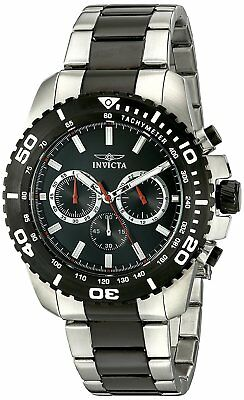 Invicta Men's 19844 Pro Diver Chronograph 47mm Furious Dial Steel Watch