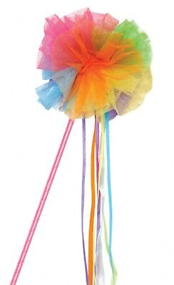Mädchen Damen Regenbogen Fairy Prinzessin Wand Pride Kostüm - Bogen Märchen Kostüme Zubehör