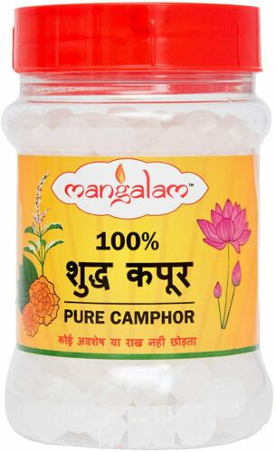 Mangalam Camphor Tablet Jar (Camphor Tablet Jar, 100 gm X Pack of 1)