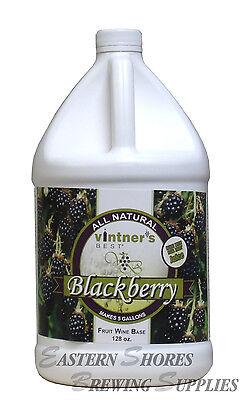 (Blackberry Fruit Wine Base from Vintners Best Wine Making )