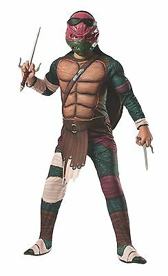 Boy's Teenage Mutant Ninja Turtle's Raphael Deluxe Costume NWT (Ninja Turtle Costume Raphael)