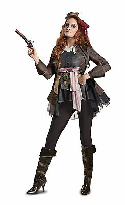 Pirates Of The Caribbean 5 Jack Sparrow Ladie's (Large, Size 12-14) (Caribbean Costumes)