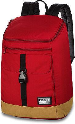 Scarlet Womens Backpack - Dakine NORA 25L Womens Backpack Bag Scarlet Red Khaki NEW