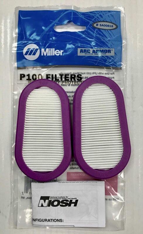 MILLER Filters P100 SA00818  & LPR100 GVS Elipse SPR457 (FREE SHIPPING USPS)