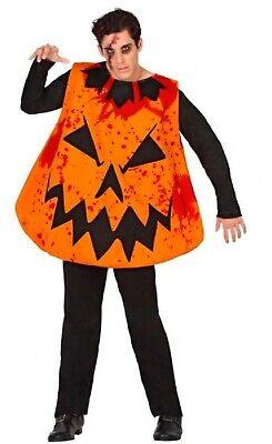 Herren Unheimliche Bloody Kürbis Halloween Kostüm M-XL