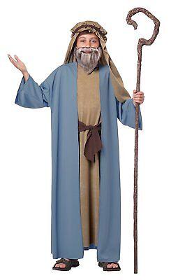 California Kostüme Herdsman Noah Biblisch Figur Kinder Religiös Kostüm 00475
