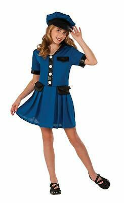 Police Chief Girl Officer Cop Blue Fancy Dress Up Halloween Child - Girl Police Officer Halloween Costume