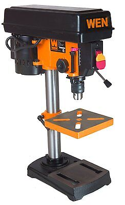 New Wen 4208 8-inch 5 Speed Drill Press 12 Keyed Chuck Tools Variable Speed