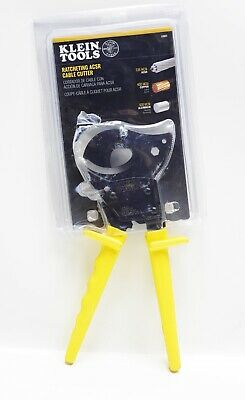Klein Tools 63607 Cable Cutters Ratcheting Wire Cable Cutter Tool Cuts Copper