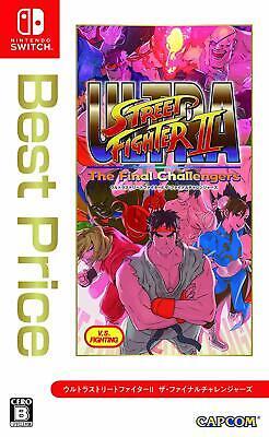 Nintendo Switch Ultra Street Fighter II The Final Challengers Best Price