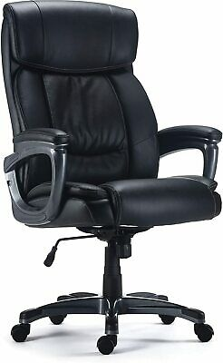 Staples Lockland Bonded Leather Big Tall Managers Chair 53235